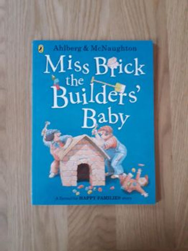 Miss Brick the Builder's Baby (Happy Families)