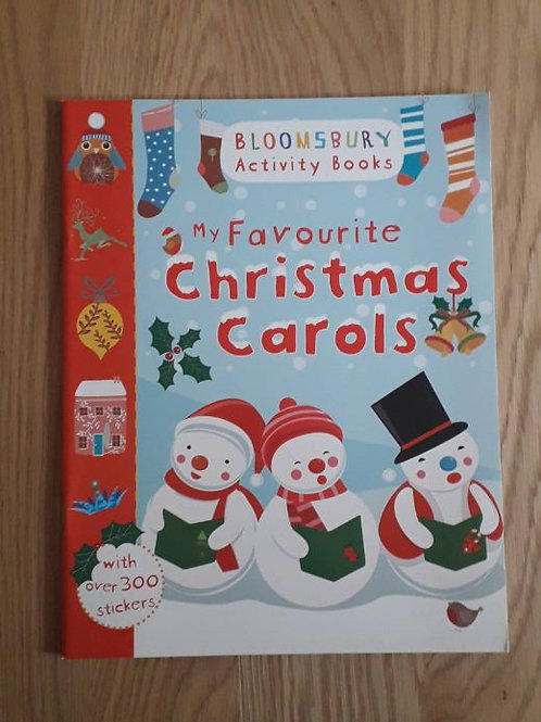 My Favourite Christmas Carols Activity Book