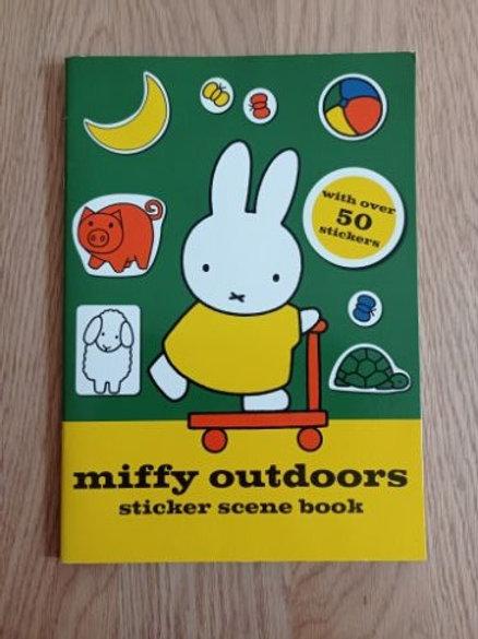 Miffy Outdoors Sticker Scene Book 1