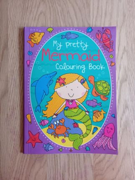 My Pretty Mermaid Colouring Book
