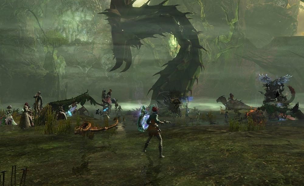 Wychmire Swamp Boss Fight