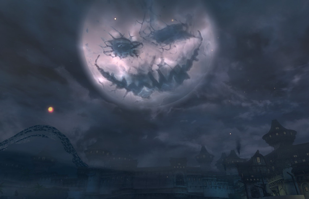 Mad King moon in Lion's Arch, Guild Wars 2