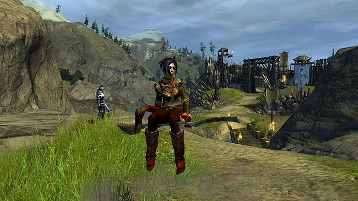 self-portrait, Guild Wars 2