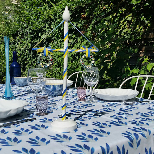 "Nappe ""Blue Leaves"" collection BLOOMY"