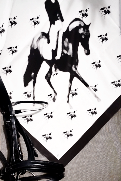 """Foulard """"Dressage"""" collection EQUIPAGE"""