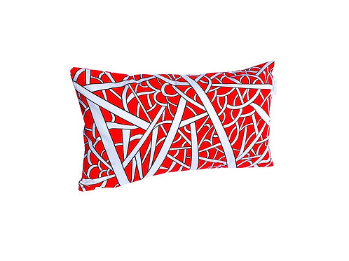 """Coussin """"Chili Red"""" collection CLASSY"""