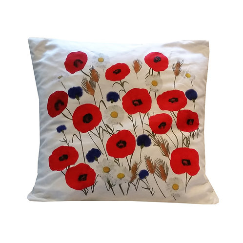 """Coussin """"Coquelicots"""" collection BLOOMY"""