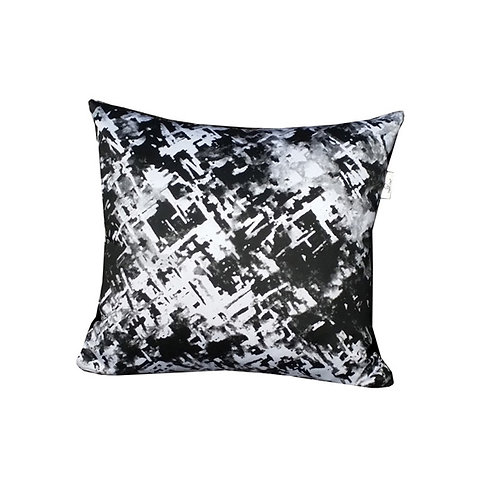"Coussin ""Black Wood"" Collection SNOW"