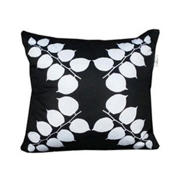 """Coussin """"White Leaves"""" Collection BLOOMY"""