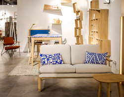 Coussins Stockholm collection THE CITY et Nordic Blue collection CLASSY