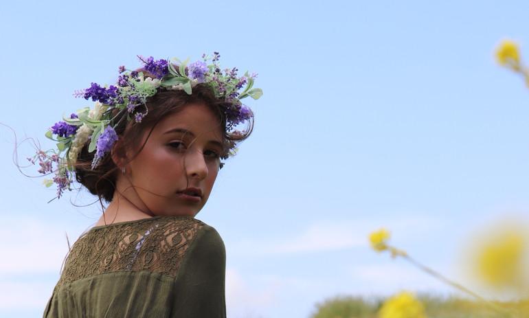 Madeline - Flower Girl Photoshoot