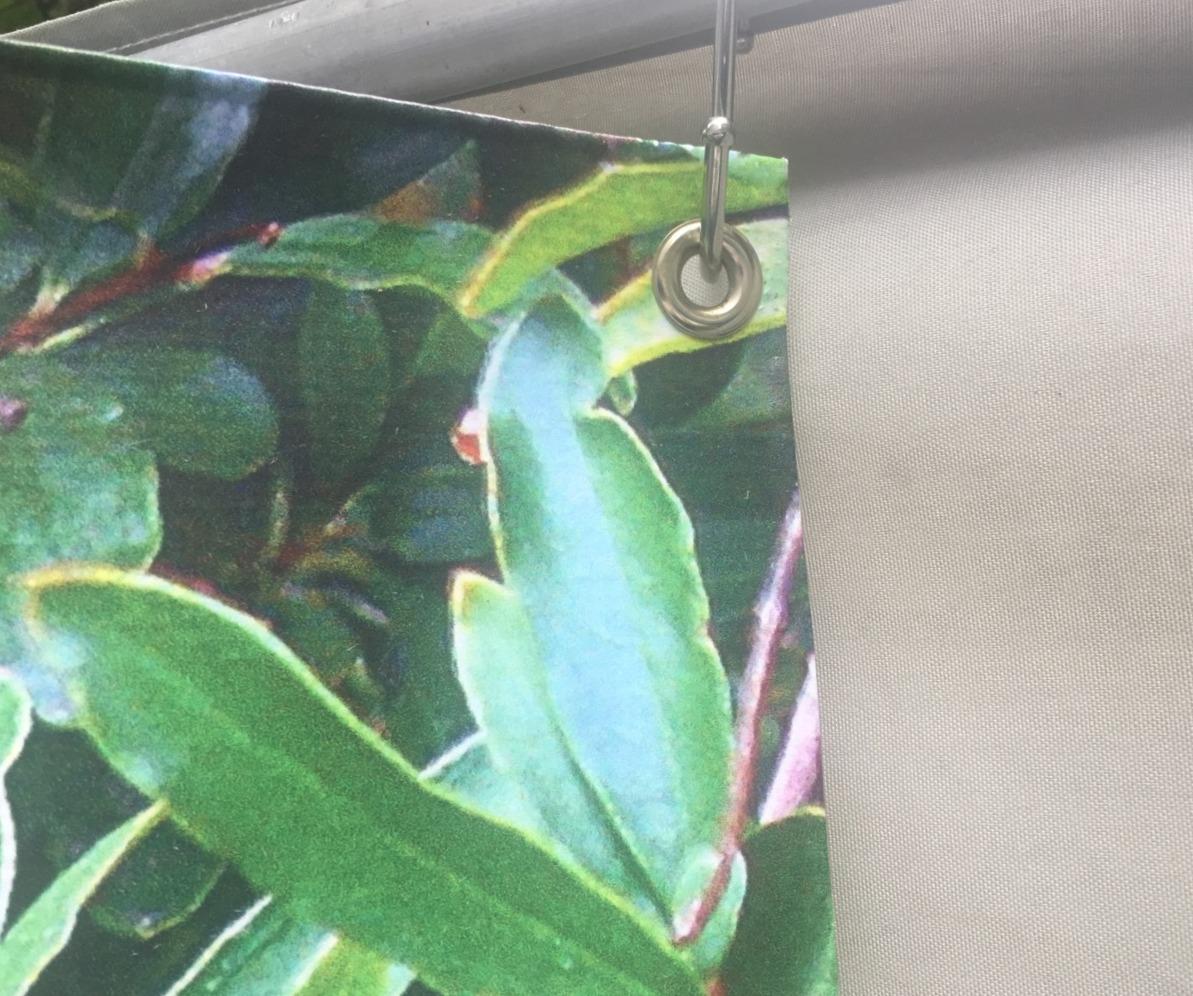 Hook to hang sukkah signs