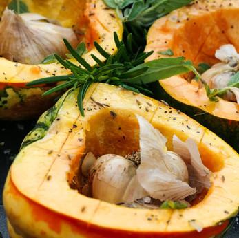 Pumpkin, Sage and Garlic