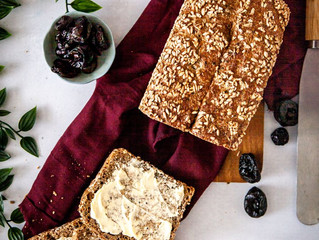 Californa Prunes Seeded Bread