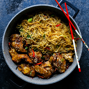 Slow Cooked Asian Chichen