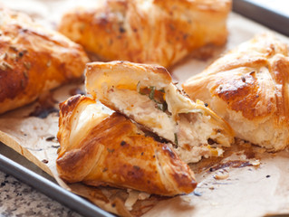 Smoked Trout and Mascapone Parcels