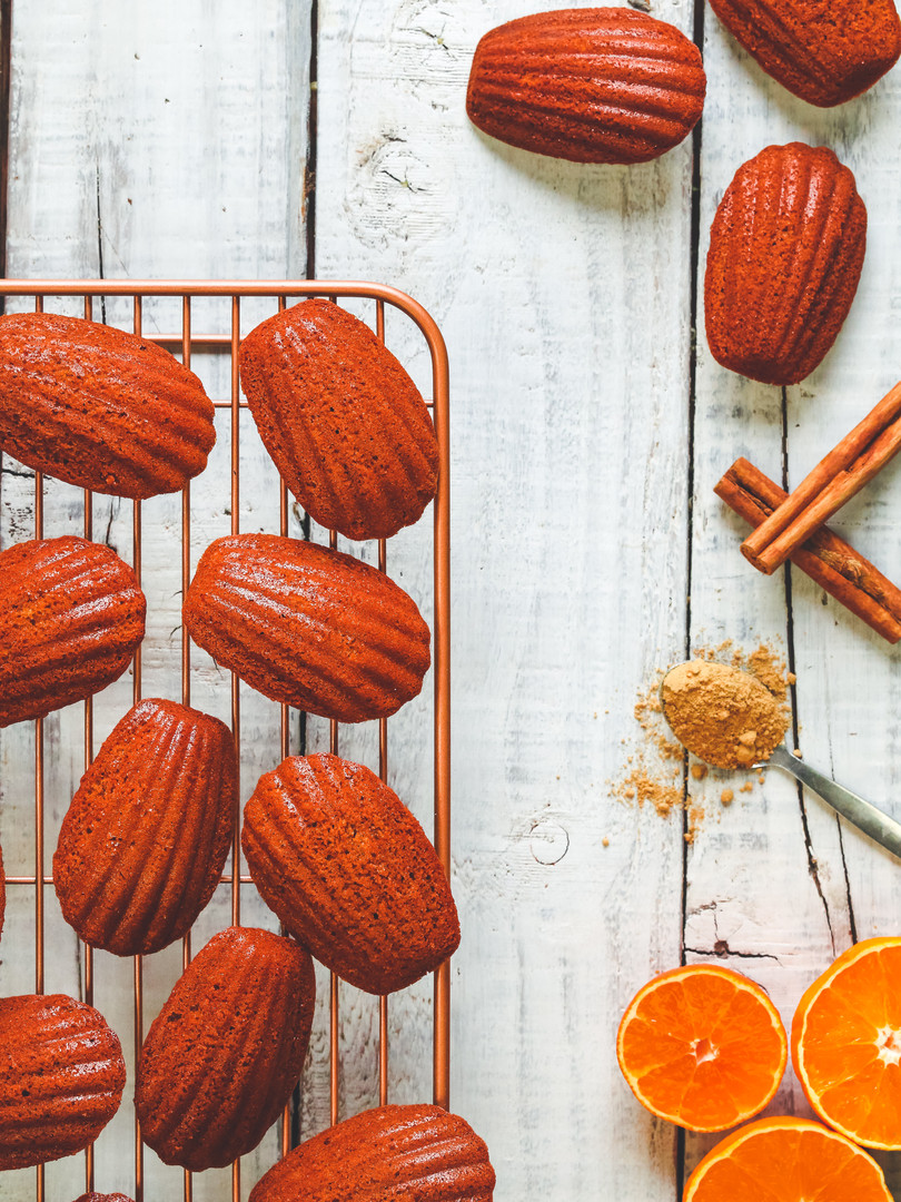 Orange Spiced Madelines