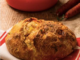 Chorizo and Potato Bread
