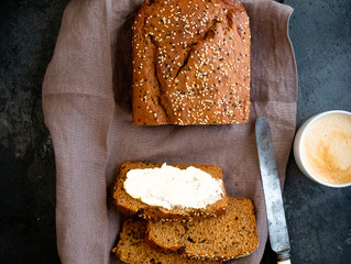 California Prune Banana Bread