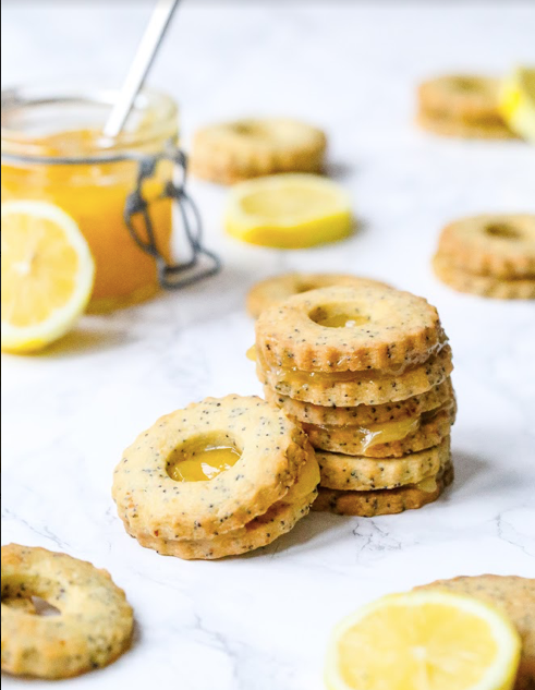 Lemon & Poppy Seed Biscuits