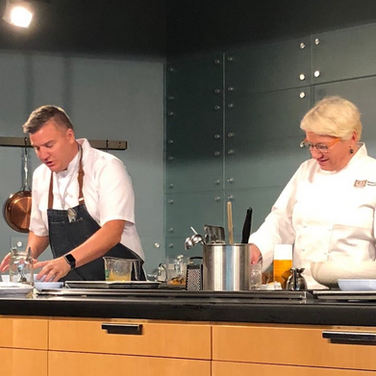 Cooking at the Culinary Institute of America in California