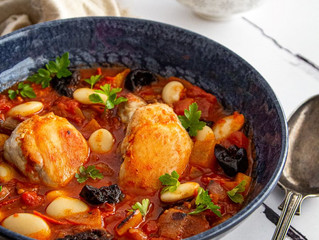 California Prunes, Chicken and Butterbean Stew