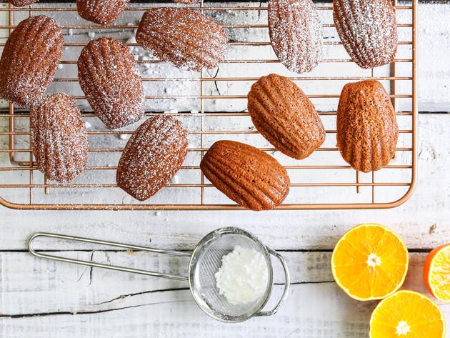 Orange Spiced Madelines