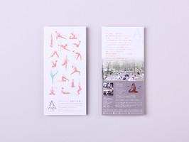 A yoga natural flyer design