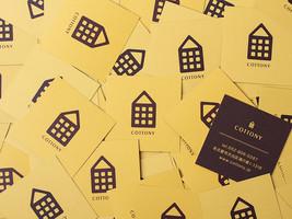 COTTONY Shop card design