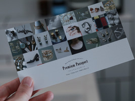 Fuligo post card design