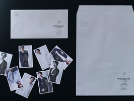 Next Colors Inc. name card & envelope design