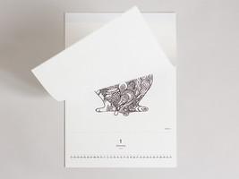 Hidenori 2014 Calendar design