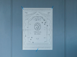 TREFLE BLANC Pamphlet design