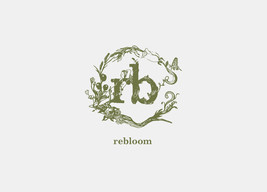 Hair salon rebloom logo design