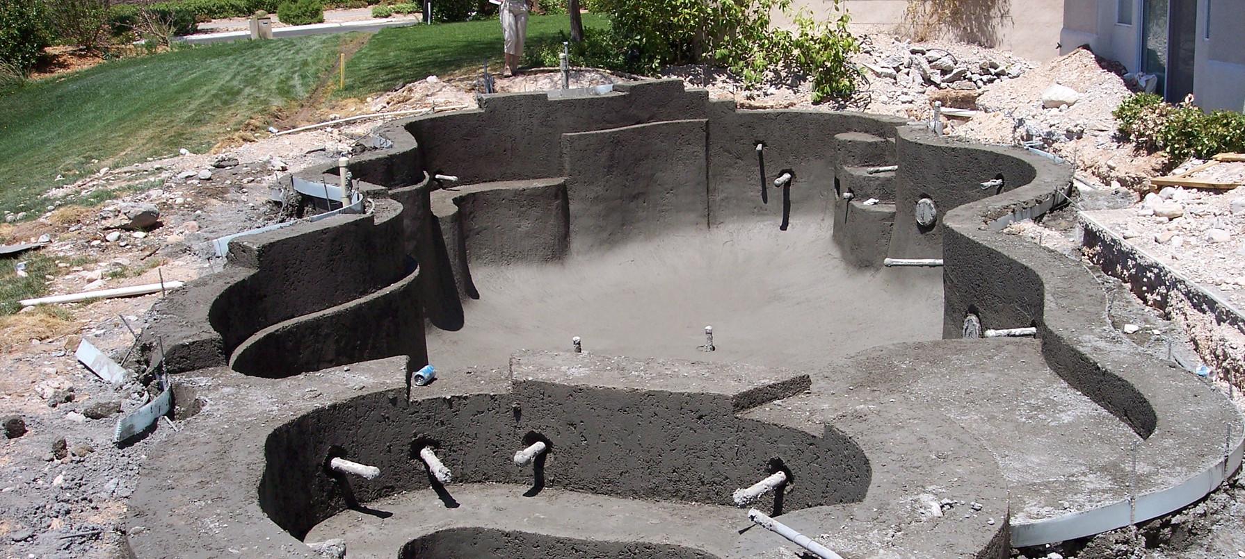 Phase 7:  Shotcrete Structure