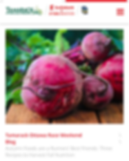 Featured in the Ottawa Marathon Blog for writing an article about beets and nitrates.