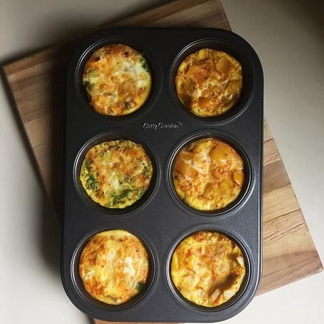 Baked Mini-Omelettes