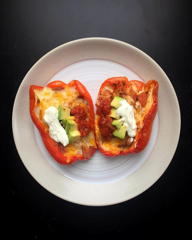 delicious and easy-to-make breakfast stuffed peppers