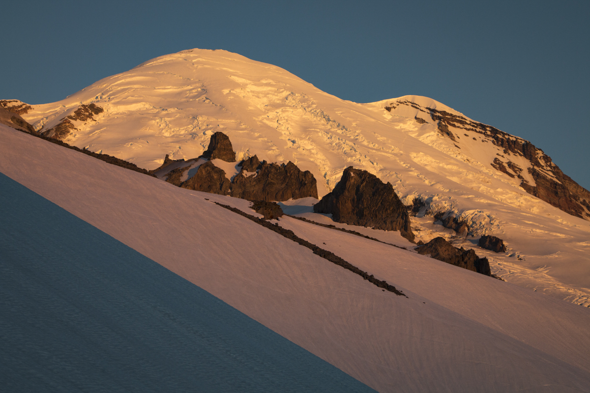 Sunrise on Rainier