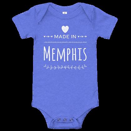 """Made in Memphis"" Onesie"
