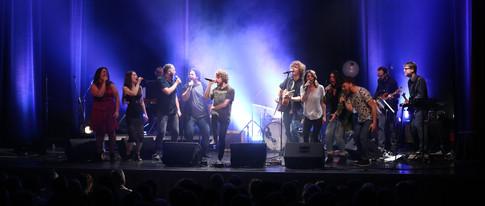 Spectacle des finissants de l'École nationale de la chanson avec Philippe Brach 7 juin 2017