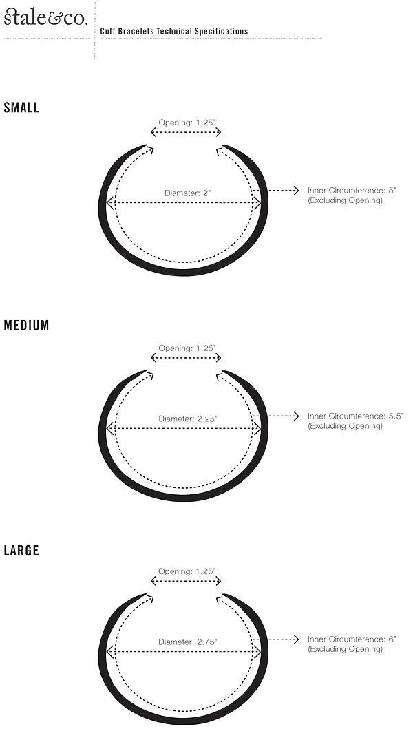 STALE & CO_Cuff Bracelet Specifications.