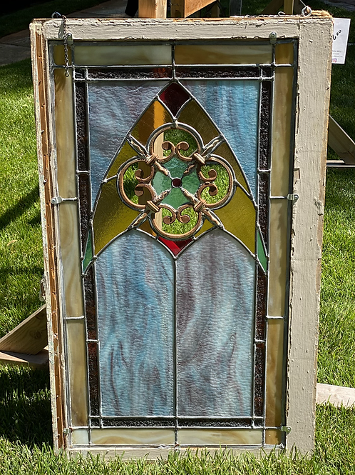 Cathedral Stained Glass Panel