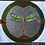Thumbnail: Dragon Fly, stained glass