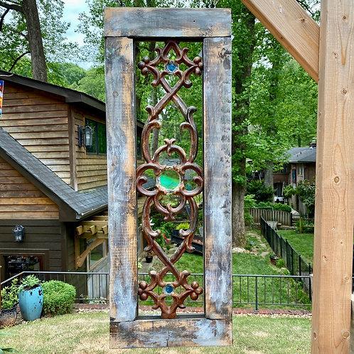 Iron & Glass Panel