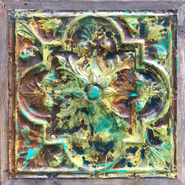 Old World Painted Tin