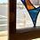 Thumbnail: Stained Glass Panel Reclaimed Wood Frame
