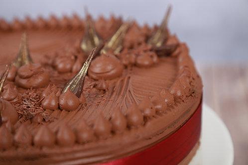 Trüffel torta (Cukormentes)