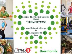 Fitnexx és Thermomix Gyermektábor 2021