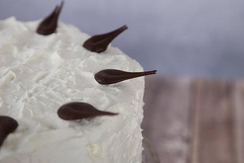 Madártej torta (Cukormentes)